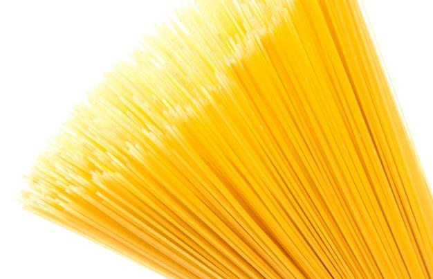 Ongekookte pasta spaghetti