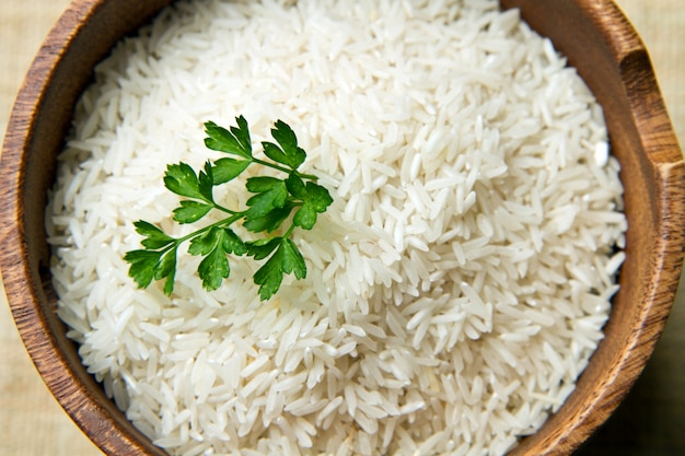 Ongekookte rijst