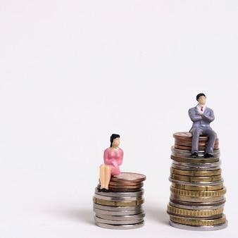 Ongelijkheid tussen man en vrouw in betaling