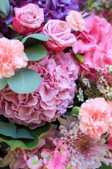 Ongelooflijke bloemenmix.