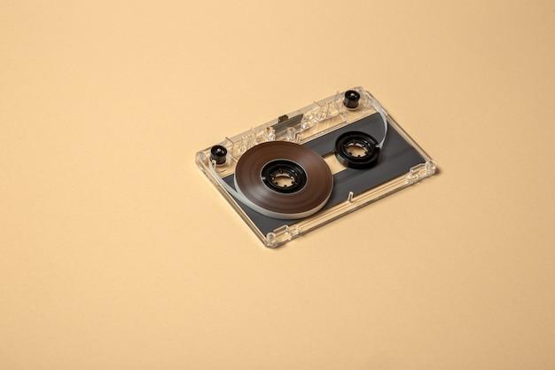 Ongemonteerde compacte audiocassette