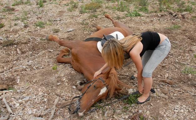 Ongeval paard