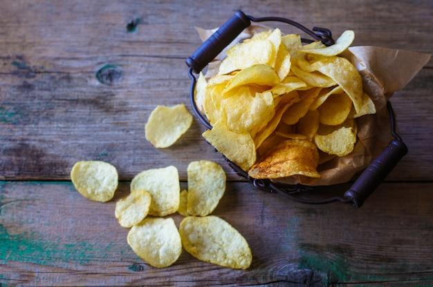 Ongezond eten - chips