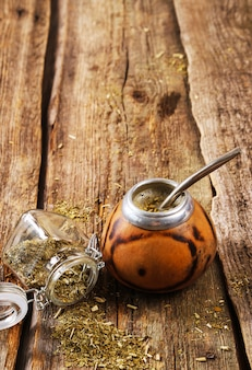 Ongrijpbare thee op hout