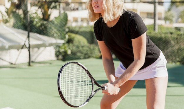 Onherkenbare training tennisser