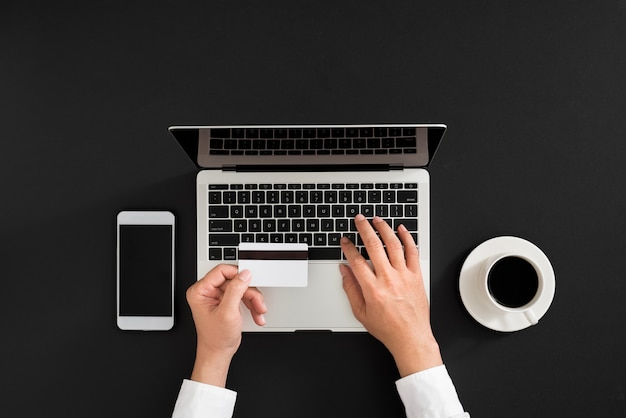 Online betaling digitale internettechnologie