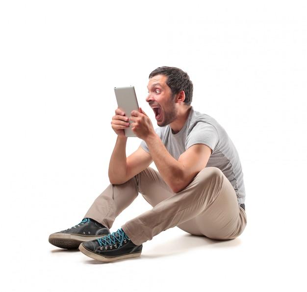 Online inhoud bekijken op een tablet