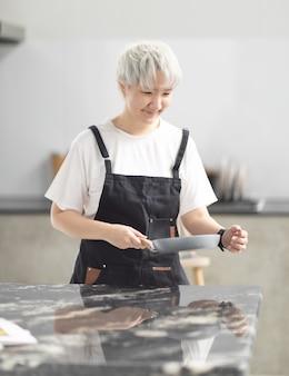 Online koken leren eten in mijn eentje in quarantaine thuis