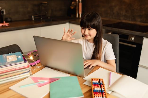 Online leren, videoconferentie, online onderwijs