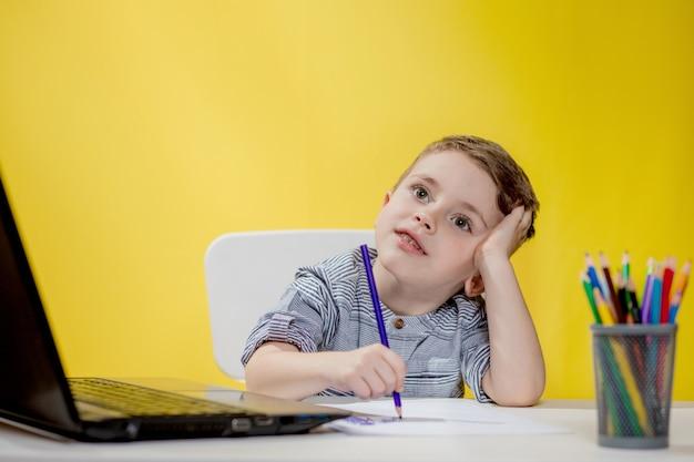 Online onderwijs op afstand