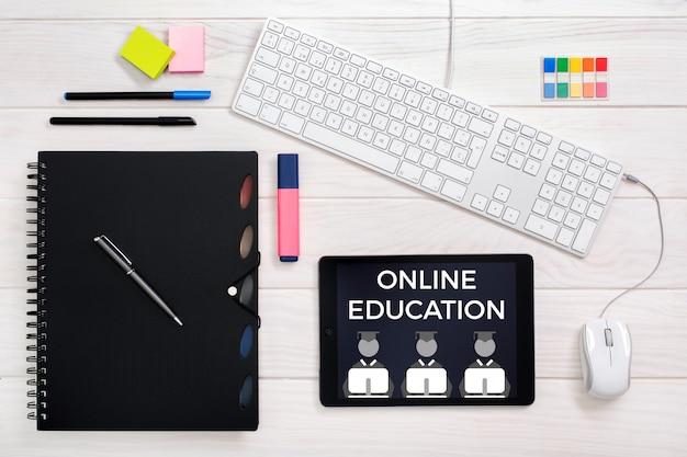 Online onderwijsconcept