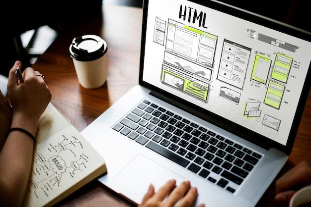 Online webdesign