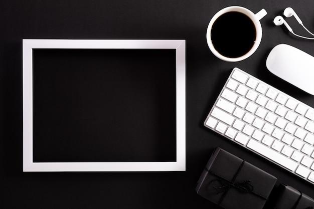 Online winkelen en black friday-compositie.