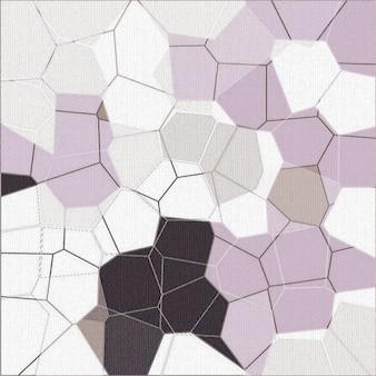 Onregelmatige mozaïekachtergrond onregelmatige abstracte rasterachtergrond