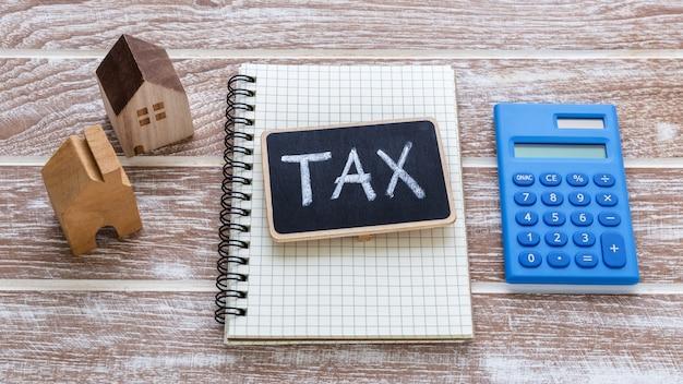 Onroerend goed belasting concept