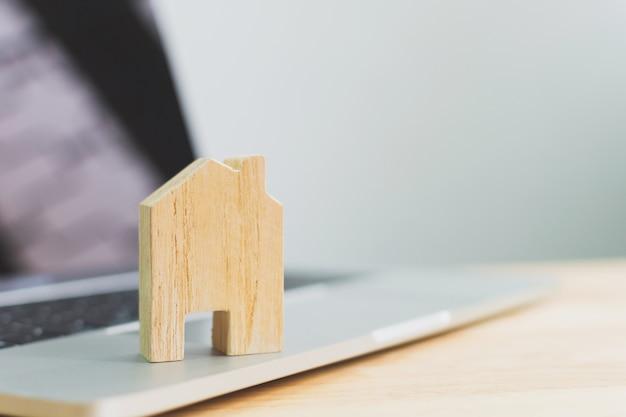 Onroerend goed investeringen en huis hypotheek financieel onroerend goed concept