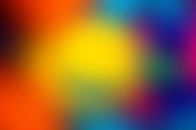 Onscherpe achtergrond in levendige neon kleuren.