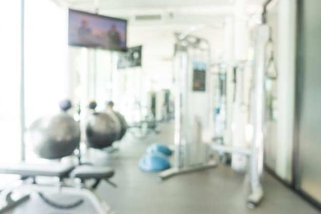 Onscherpe fitnessapparaten
