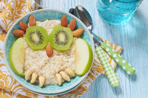 Ontbijtpap voor kinderen