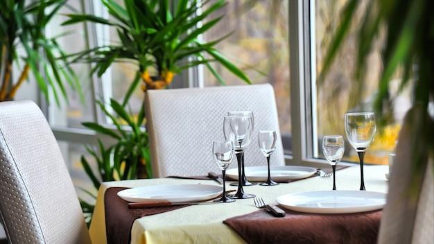 Ontmoetingsplaats in restaurant