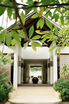Ontspan huis in thaise stijl
