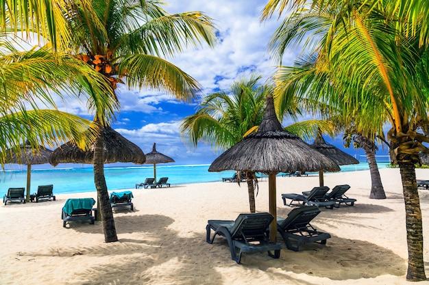 Ontspannende tropische vakantie in exotisch paradijs -mauritius eiland