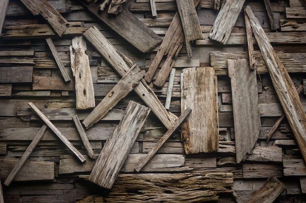 Ontwerp van de oude houten achtergrond van de planktextuur.
