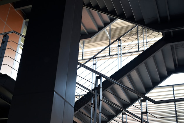 Ontwerp van de verdieping en het trappenhuis van de bewoner