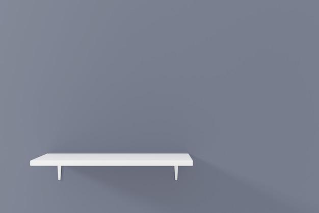 Ontwerp van een displaystandaard. 3d productweergave. 3d-weergave.