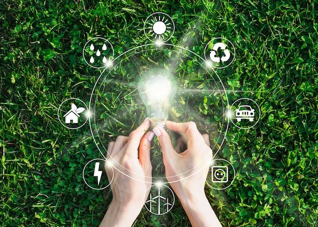 Ontwerp van natuur en hernieuwbare energie