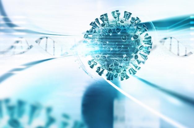 Ontwikkeling van een vaccin tegen het virus sars cov 2 schuldig aan covid 19-ziekte