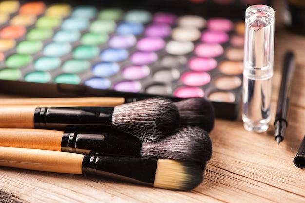Oogschaduw set, met een professionele make-up