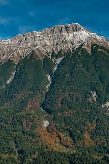 Oostenrijkse alpen. innsbruck, tirol, oostenrijk.
