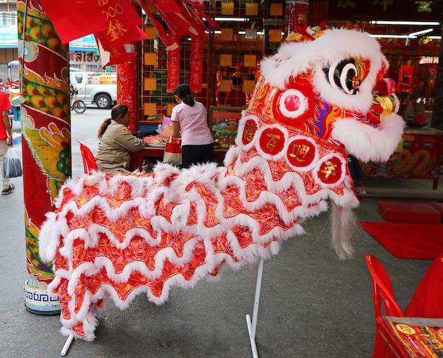 Oosterse leeuwendans kostuum