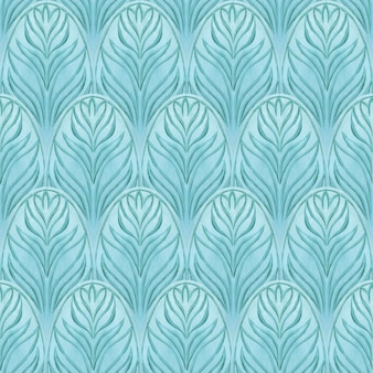 Oosterse naadloze blauwe patroon. abstracte achtergrond. afdrukken voor inpakpapier, textiel, stof, mode, kaarten, trouwkaarten