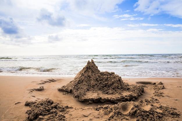 Oostzee en de kust in augustus