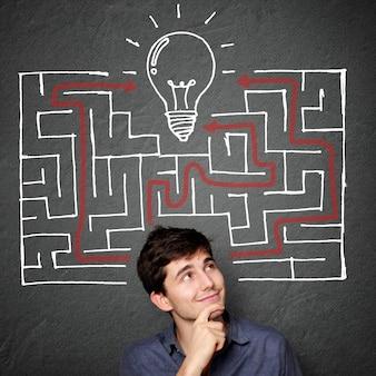 Op zoek naar idee