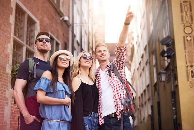 Op zoek naar interessante plekken in de stad