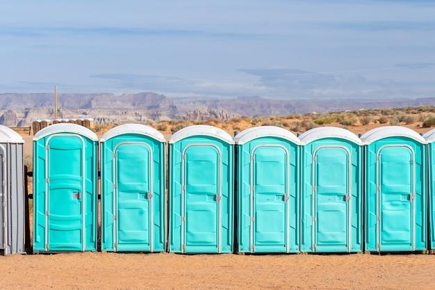 Openbaar draagbaar toilet