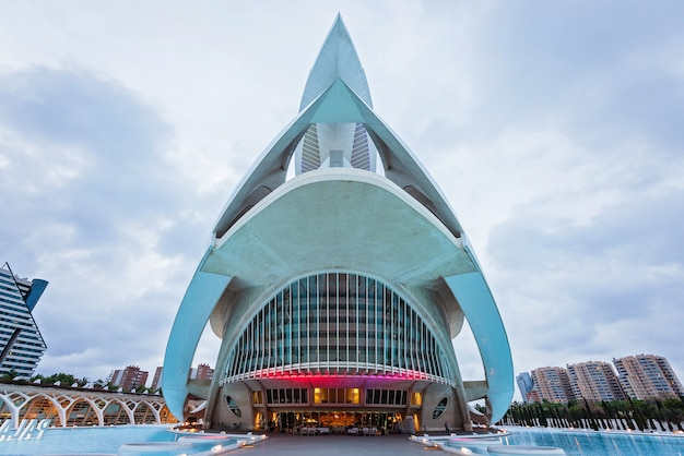 Opera house in valencia