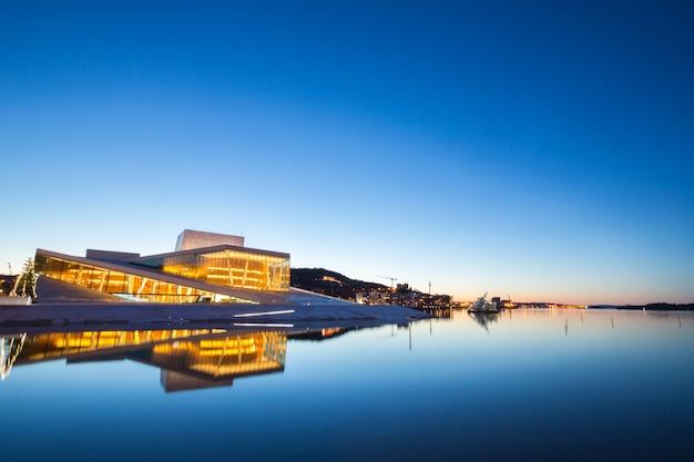 Operagebouw van oslo