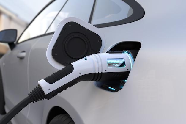 Opladen elektrische auto Gratis Foto