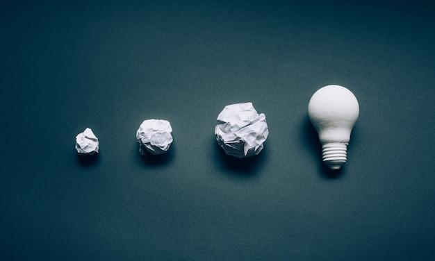 Oplossingen en ontwikkelingsideeën concepten