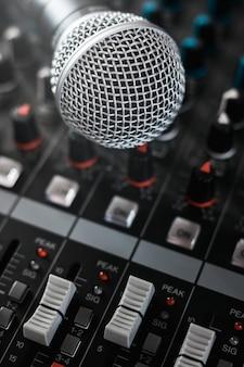 Opname studio apparatuur