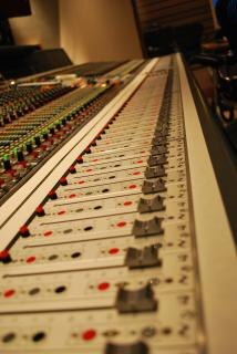 Opnamestudio mixer
