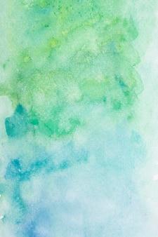 Oppervlak met artistieke aquarelverf