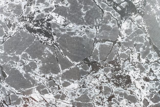 Oppervlak van het marmer met zwarte tint