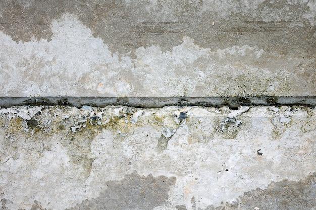 Oppervlakte - abstracte oude grunge - de vuile textuur van het muur barstende cement