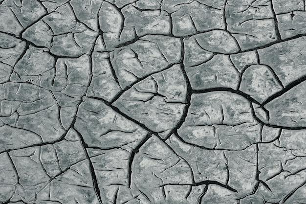 Oppervlakte van de gebarsten verf, achtergrondtextuur.