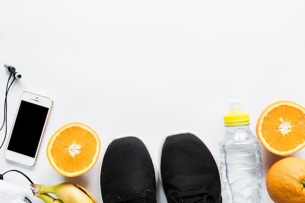 Opstelling van apparatuur voor een gezonde levensstijl
